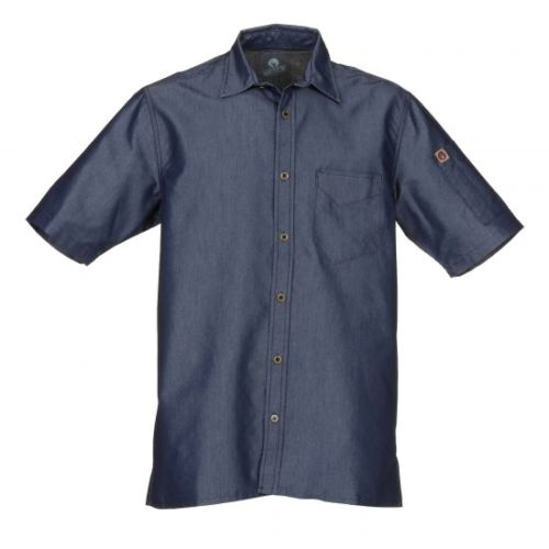 Detroit Short Sleeved Denim Shirt
