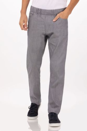 Vertical Stripe Pants