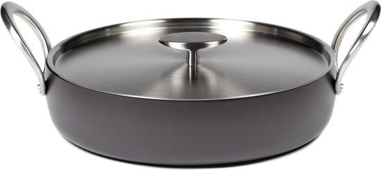 Black Sauté Pot – 28 cm – Pascale Naessens