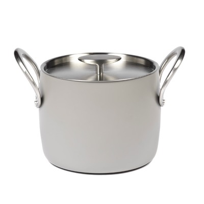 Stone Grey Pot – 18 cm – Pascale Naessens