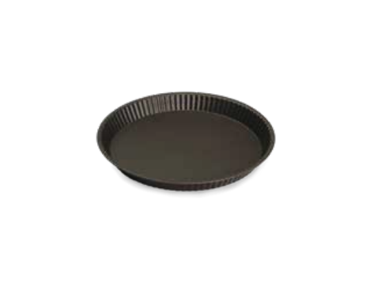 Round Tart Mould With Flat Edge