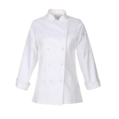 Elyse Premium Cotton Chef Coat