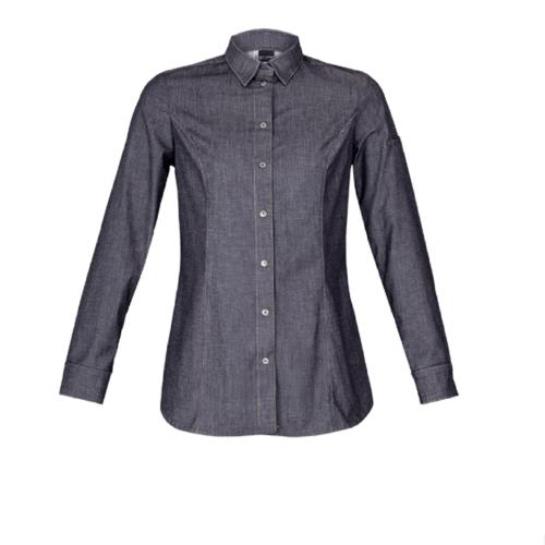 Dakota Denim Long Sleeve Women's Jacket