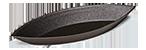 Plain Oval Boat Mould